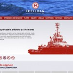 Imagen de la home de la web de Boluda