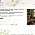Imagen de la pagina de contacto de la web de Bosque Urbano