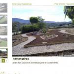 Imagen de la pagina de trabajos de la web de Bosque Urbano