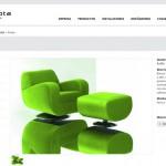 Imagen de la pagina de un producto de la web de Concepta Barcelona