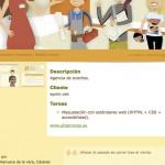Imagen de la pagina de un trabajos de la web de Creativa Soluciones Tecnológicas