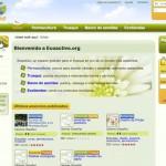 Imagen de la home de la web de Ecoactivo