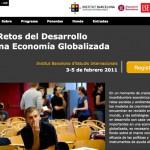 Imagen de la home de la web del Seminario IBEI-LSE