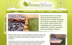 Imagen de la web de Bosque urbano