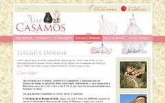Imagen de la web de Nos Casamos