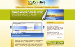 Imagen de la web de Creativa Soluciones Tecnológicas