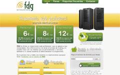 Imagen de la web de FDG