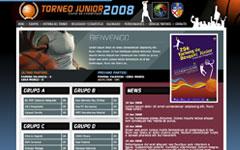 Imagen de la web de Torneo Junior Ciudad de Hospitalet