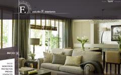 Imagen de la web del Estudio F. Interiores