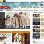 Imagen de la home de la web Love Valencia