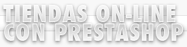 Tiendas on-line con prestashop