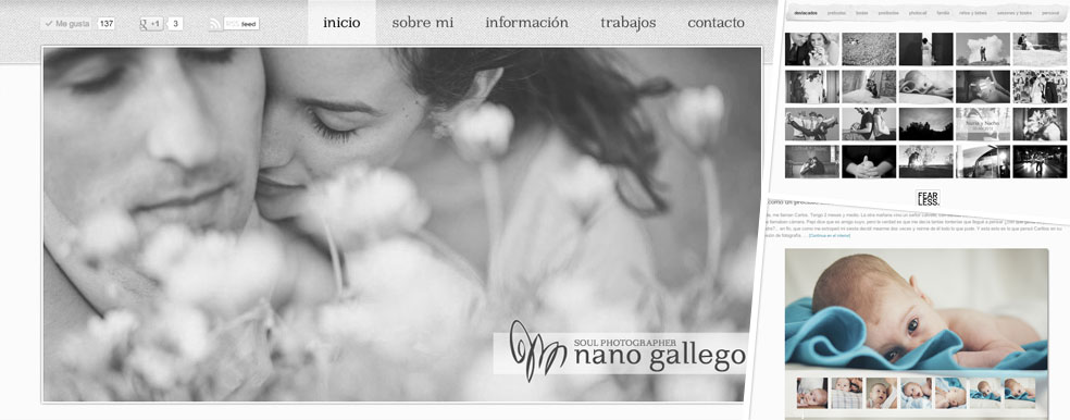 Trabajo para Fotógrafo Nano Gallego
